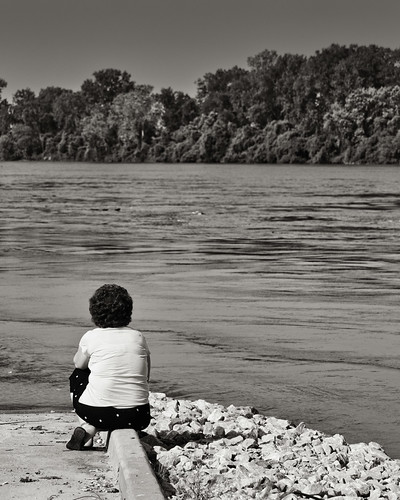Sherry   pensive by nature bw