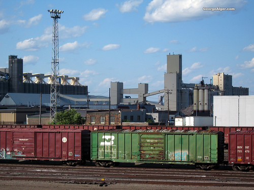 Duluth Train Yard