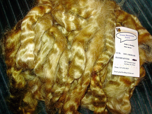 Goldie Locks mohair