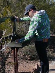 Joshua Contributes to Data Collection (alist) Tags: phoenix garden botanical desert alicerobison