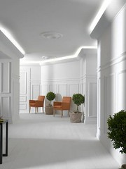 invitinghome.com - crown molding white room (tjloop85) Tags: home wood architectural rail crown improvement flexible dcor molding molding chair trim decorative