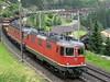 SLMNr 5178 : SBB Lokomotive Re 4/4 II 11315 / Re 420 315 + Re 6/6 11611 Rüti ZH unter mittlerer Meienreussbrücke bei Wassen , Kanton Uri , Schweiz (chrchr_75) Tags: bridge train de tren schweiz switzerland suisse swiss eisenbahn railway zug sbb 420 66 pont locomotive re christoph 315 svizzera brücke chemin 44 centralstation reusstal uri fer locomotora tog ffs juna bundesbahn lokomotive lok 620 ferrovia mittlere reuss spoorweg gotthard zh suissa locomotiva lokomotiv ferroviaria cff 鉄道 wassen rüti re66 locomotief kanton chrigu поезд rautatie паровоз 11315 schweizerische zoug trainen железнодорожный gotthardbahn chrchr hurni nordrampe meienreussbrücke chrchr75 bundesbahnen meienreuss chriguhurni re620 albumsbbre66lokomotive re6611611 re4411315