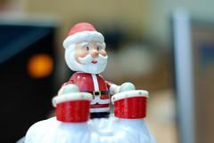 Santa-drummer