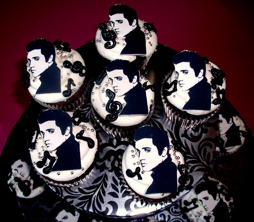 Elvis Cupcakes