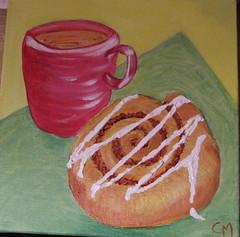 Coffee and a bun