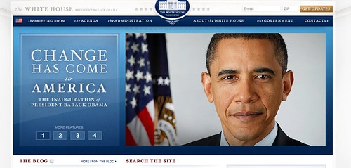 new whitehouse.gov site barack obama president