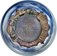 Planet Schloss (maxelmann) Tags: panorama stitch 360 fisheye schloss 360x180 nn 360 merseburg ptgui equirectangular photomatix nodalninja hdrpanorama tokina1017mm
