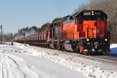 Breakdown (Schnauf) Tags: winter snow twoharbors dmir tunnelmotor duluthmissabeironrange ble909