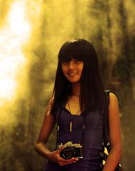 Ray of Maya... (Fu Ad) Tags: street city woman girl hall model women asia warm ray maya sweet comel malaysia kuala kualalumpur petaling mata asean lumpur kuning sof cantik molek petalingroad