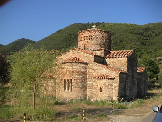 Δυτική Ελλάδα - Αιτωλοακαρνανία - Δήμος Χάλκειας Η εκκλησία της Παναγίας, Γαβρολίμνη