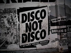 disco not disco (spanier) Tags: show party berlin club poster disco typography scala wastedgermanyouth doppelganger futura paulsnowden disconotdisco mattvaughan donnyfong