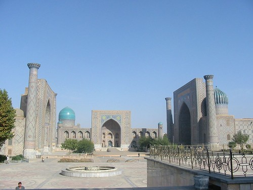 Overzicht Registan