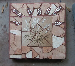 "16"" Paver done (Elsieland Mosaics) Tags: glass tile mosaic corpuschristi mosaics steppingstones christi corpus elsie pavers mosaicart gaertner elsieland elsiegaertner elsielandmosaics"