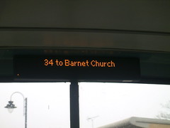 34 to Barnet Church (gbenviro200) Tags: church 34 barnet walthamstow arriva ibus alx400