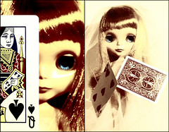 luck and intuition play the cards with spades to start...7/52