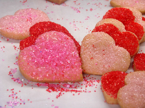 Treats Truck V Day cookies