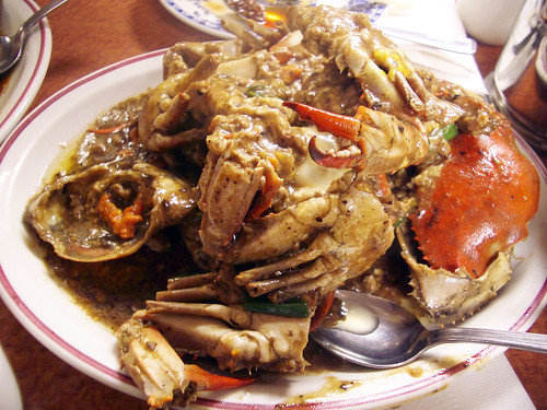 crabs cantonese style @ hop kee
