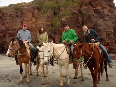 Horseback riding in Rosarito (sfgirl) Tags: las mexico gaviotas