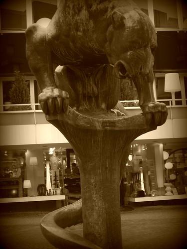 Statue in Aachen