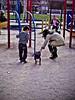 Andando por el parque
