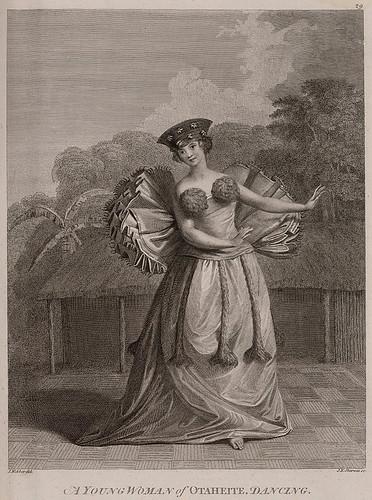 002-Una joven bailando en Otaheite