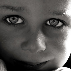 Im in... (Christine Lebrasseur) Tags: boy portrait people blackandwhite white black france eye art 6x6 smile face closeup canon square louis kid eyes child glance theface 500x500 kidslife challengeyouwinner artofimages allrightsreservedchristinelebrasseur bestportraitsaoi elitechildimages childrenbestphotos