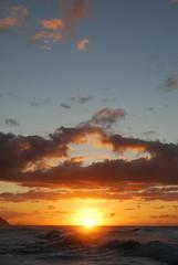 DSC_3107 (Axel-) Tags: sunset hawaii waves kauai keebeach