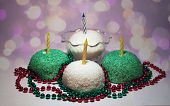 Happy Birthday To Me!! (jami_lee) Tags: texture colors beads candles bokeh happybirthdaytome disgustingbirthdaytribute im23yay hootersfordinner