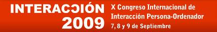 logo congreso Interacción 2009