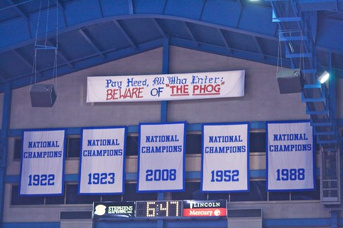 Kansas Championship Banners