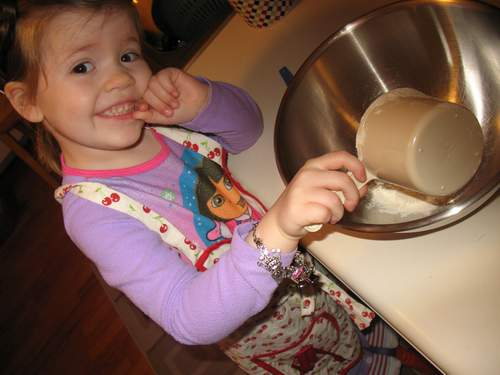 Cooking with kids ~ muffins