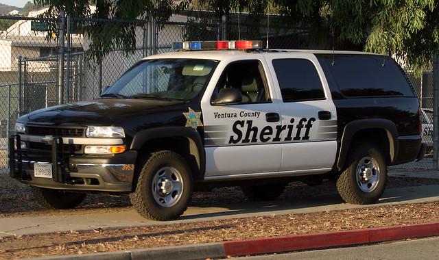county chevrolet suburban chevy sheriff ventura