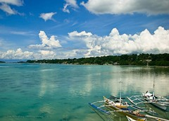 Tagbilaran Bohol, Philippines (jon.noj) Tags: travel blue sea sky boat interestingness fishing philippines explore bohol monday fp frontpage 2009 panglao tagbilaran hbm interestingness4 mondayblues wowphilippines interestingness28 explorecalendar happybirthdaymarkee