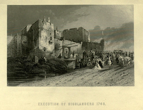 026-Ejecucion de Highlanders en 1746