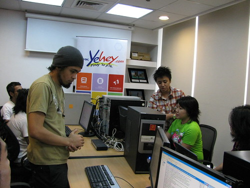 Urbandub Chat Event at Yehey office