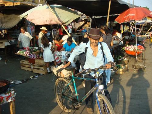 Usulután market, El Salvador.