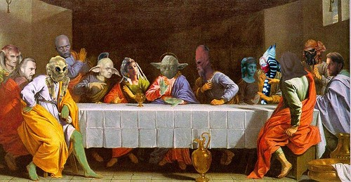 Last Jedi Supper