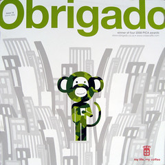 Rattex in Obrigado Magazine (Cover)