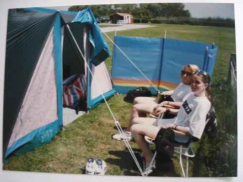 Me and mum camping {97}