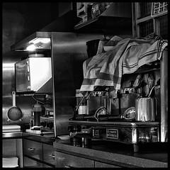 Cafetera (joanpetrus) Tags: blackandwhite bw black bar digital lumix noiretblanc framed object bn bianco nero negre biancoenero blancinegre 500x500 bwemotions bwd 123bw joanpetrus