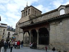 Puerta meridional de la Catedral (Gonzalo Caballero) Tags: espaa spain huesca catedral es pyrenees romanic spanien jaca pirineos romnica romnico aragn romanik jacetania jaqus jaqueado