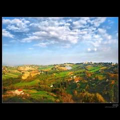 Fields and Woods / Macerata (Osvaldo_Zoom) Tags: italy rural landscape fields crops agriculture marche macerata newwoods agriscape