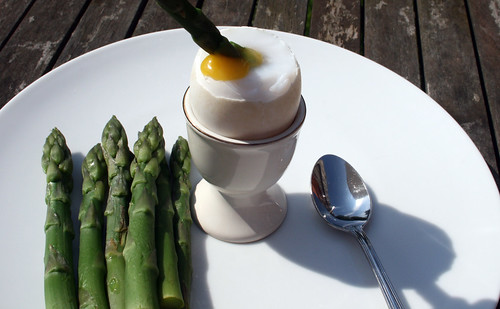 Asparagus and Duck Egg 1