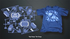 High Voltage - Shirt Design (noelevz) Tags: shirt design