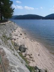 Schluchsee Blackforest (Anna-Lisa Schnecker) Tags: wood lake beach forest al 2009 gosi schluchsee titisee woodenhuts aidamillicent