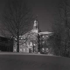 Griffin Hall sunny winter afternoon (Nicholas Whitman) Tags: campus williams photos williamscollege