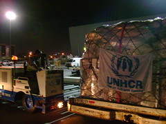 Sri Lanka: First UNHCR emergency airlift flight arrives in Colombo (UNHCR) Tags: truck airport war dubai refugee middleeast emirates conflict trucks srilanka shelter emergency protection assistance unhcr colombo loading logistics visibility displacement airlift idps humanitarianaid acnur