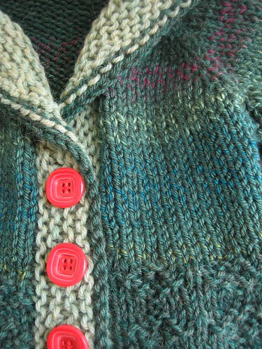 090503. forest baby shawl sweater.
