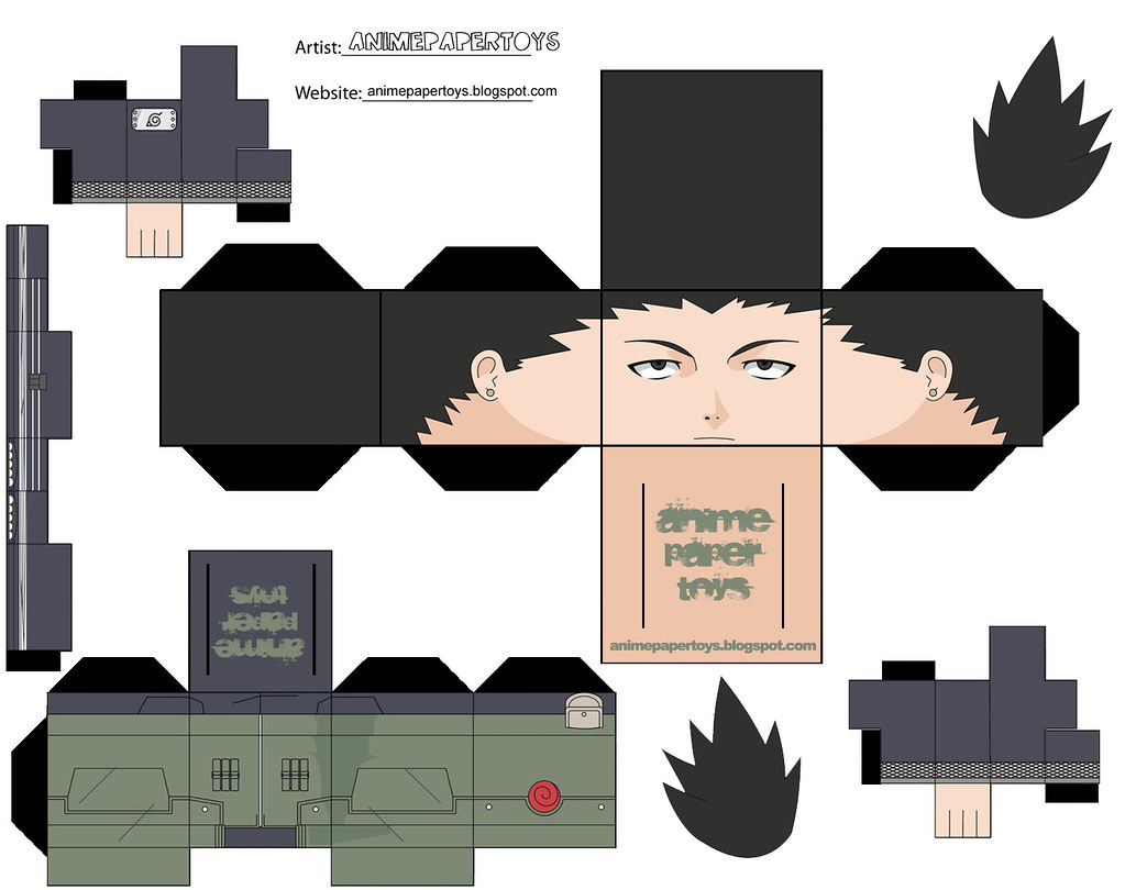 Muñecos armables de anime