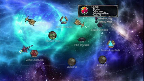 Puzzle Quest Galactrix screenshot 1